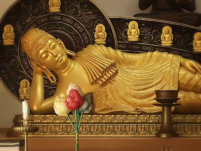 Bodhisattva Photograph - Shinnyosanmaya-do Buddha - Japan by Daniel Hagerman