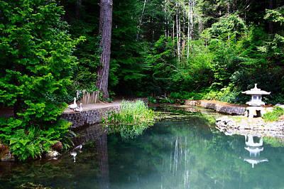 Zen Photograph - Shinpi-tekina Pond by Sally Bauer