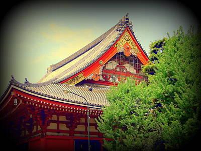 Photograph - Shinto Temple Tokyo by John Potts