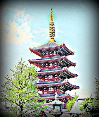 Photograph - Shinto Tower Tokyo Japan by John Potts