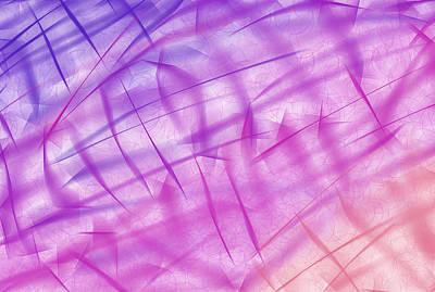 Shiny Background Art Print by Krasimira Nevenova