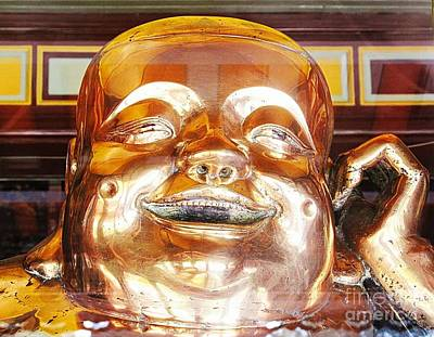 Photograph - Shiny Happy Budha by Ethna Gillespie