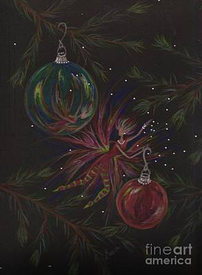 Pine Needles Drawing - Shiny Objects by Dawn Fairies