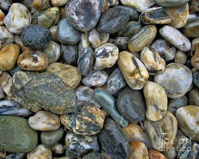Photograph - Shiny Rocks by Diane Enright