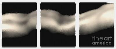 Kiss Breast Nipple Photograph - Shiny Segmented Mass - No.0958 by Joe Finney