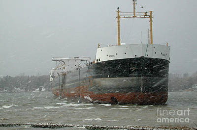 Photograph - Ship Aground 2 by Kathi Shotwell