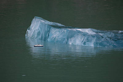 Photograph - Ship And Iceberg by June Jacobsen