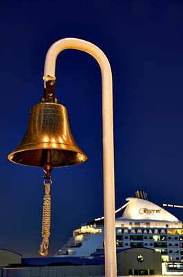 Photograph - Ship Bell by Maria Coulson