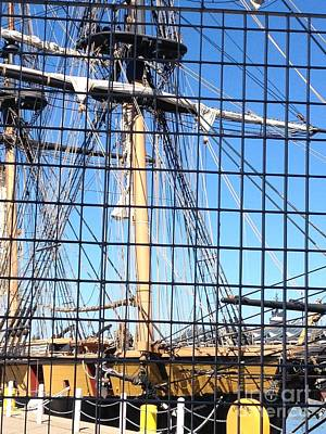 Photograph - Ship In Cage by Anne Cameron Cutri