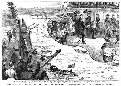 Duchess Painting - Ship Inspection, 1885 by Granger