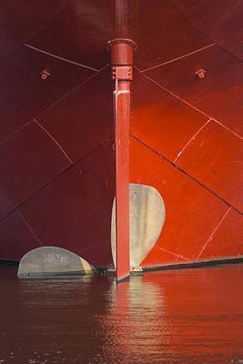 Venice Beach Bungalow - Ship Propeller 1 by John Brueske