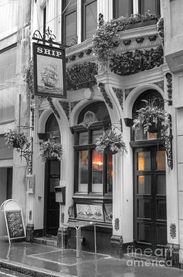 Photograph - Ship Pub In London by David Birchall