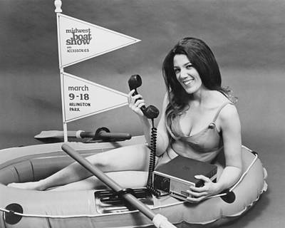 Electronics Photograph - Ship-to-shore Radio Display by Underwood Archives