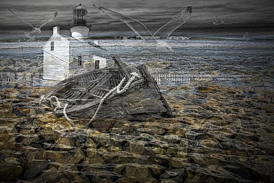 Photograph - Ship Wreck Dream by Randall Nyhof