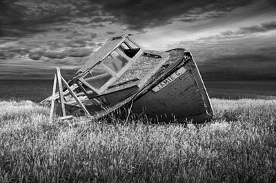 Photograph - Ship Wreck On Prince Edward Island by Randall Nyhof