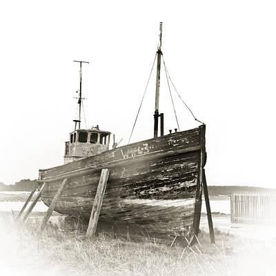 Trawler Photograph - Ship Wreck by Tom Gowanlock