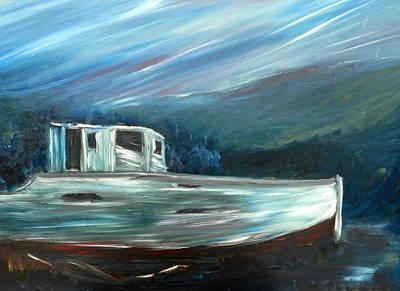 Shipewreck Original by Ian Rigby