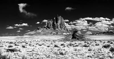 Photograph - Shiprock Dyke Close-up by Erik Poppke
