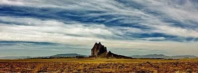 Photograph - Shiprock Panorama by Benjamin Yeager