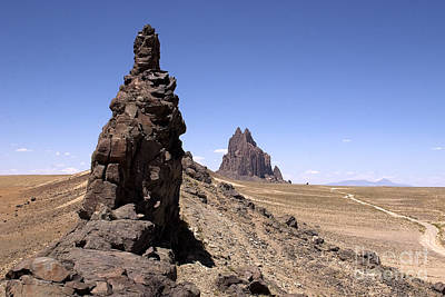 Photograph - Shiprock - New Mexico by Steven Ralser