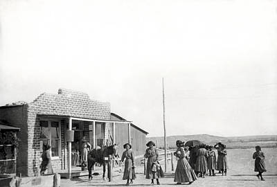 Trading Post Photograph - Shiprock Trading Post by Underwood Archives