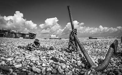 Photograph - Ships Anchor by Gary Gillette