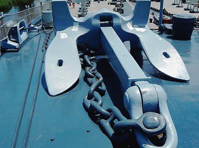 Ships Anchor Art Print by Michael Genova