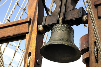 Photograph - Ships Bell by Bradford Martin