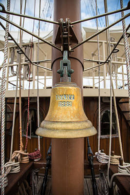 Photograph - Ships Bell by Dale Kincaid
