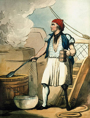 Handicapped Painting - Ship's Cook, 1799 by Granger