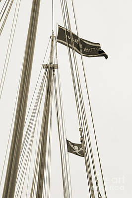 Photograph - Ship's Flag - Key West by Kathi Shotwell