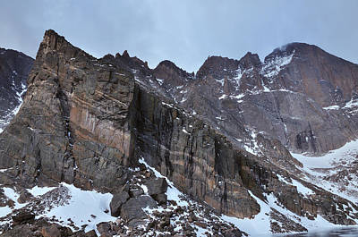 Chasm Lake Photograph - Ships Prow by Adam Paashaus