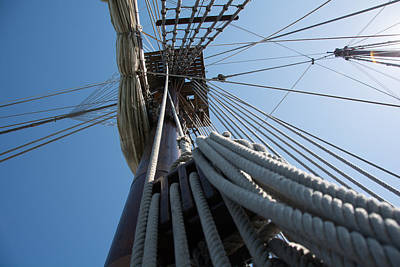 Photograph - Ship's Rigging by Michael Gooch