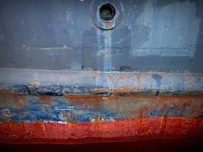 Shipside Abstract II Art Print by Patricia Strand