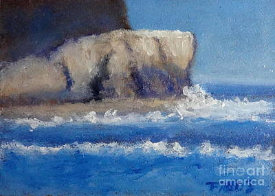 Painting - Shipwreck Rock by Fred Wilson