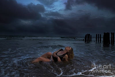 Photograph - Shipwrecked 1234 by Colin Munro