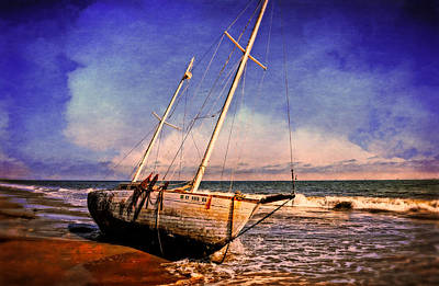 Photograph - Shipwrecked by Lynn Bauer