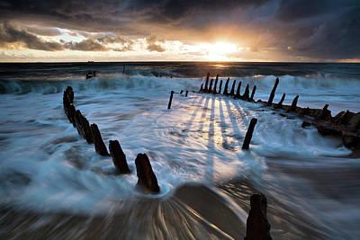 Shipwreck Photograph - Shipwrecked by Mel Brackstone