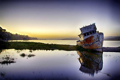 Photograph - Shipwrecked by PhotoWorks By Don Hoekwater