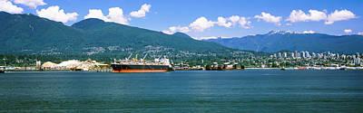 Shipyard At Vancouver, British Art Print by Panoramic Images