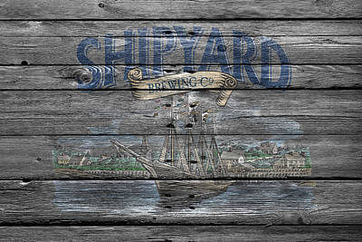 Handcrafted Photograph - Shipyard Brewing by Joe Hamilton