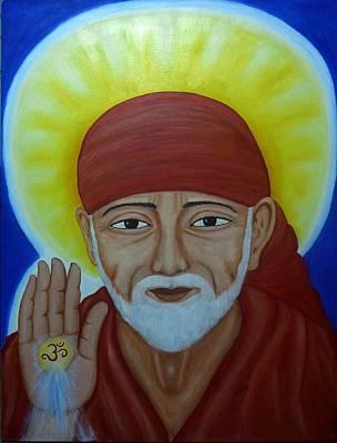 Sai Painting - Shirdi Sai Baba by Vimala Jajoo