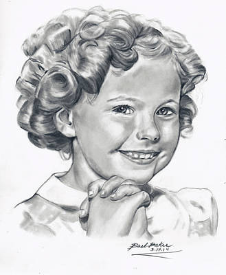 'shirley' Art Print by Barb Baker