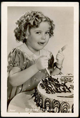 Shirley Temple Photograph - Shirley Temple  (1928 -2014), American by Mary Evans Picture Library