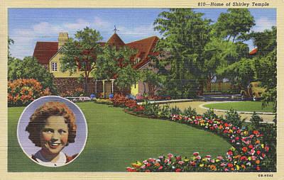 Shirley Temple (1928 - 2014)  Home Art Print