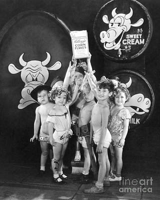 Shirley Temple Photograph - Shirley Temple And Gang by MMG Archives