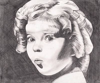 Painting - Shirley Temple by Beverly Marshall