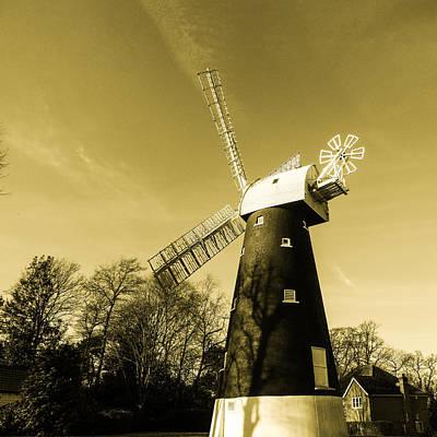 Shirley Digital Art - Shirley Windmill 1 by Martin Wall