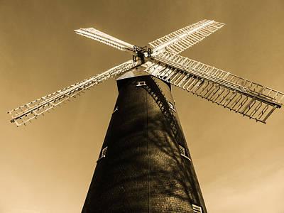 Shirley Digital Art - Shirley Windmill 2 by Martin Wall
