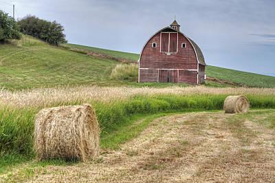 Photograph - Shirrod Rd Barn by Doug Davidson